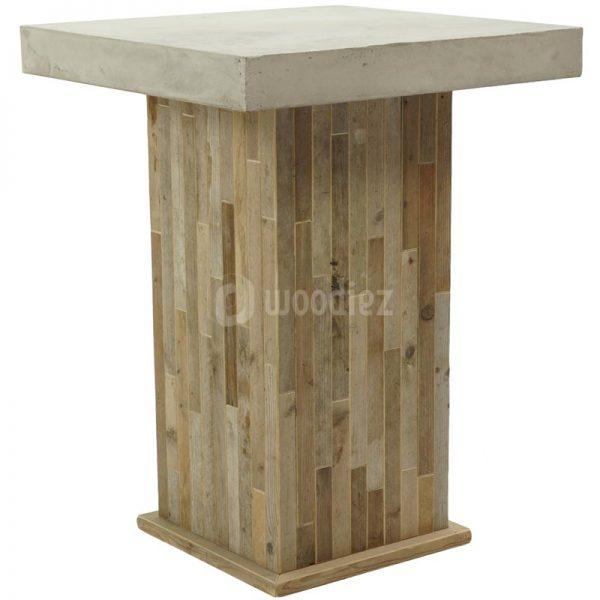 Statafel beton en steigerhout huren