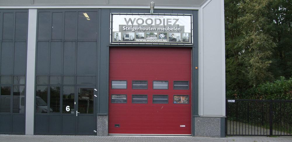 Oude pand van Woodiez in Bergeijk