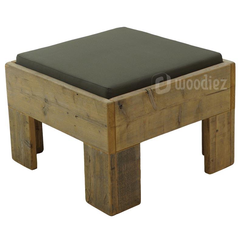 Steigerhouten lounge voor een flexibele indeling van je loungehoek