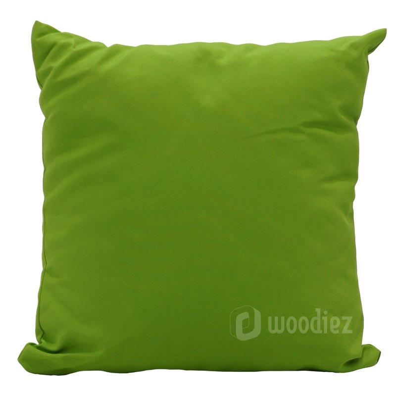 Mos groene sierkussens huren als decoratie | Woodiez