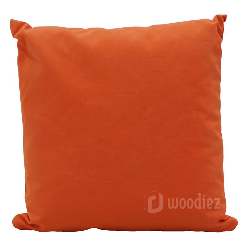 Oranje sierkussen huren als decoratie of aankleding