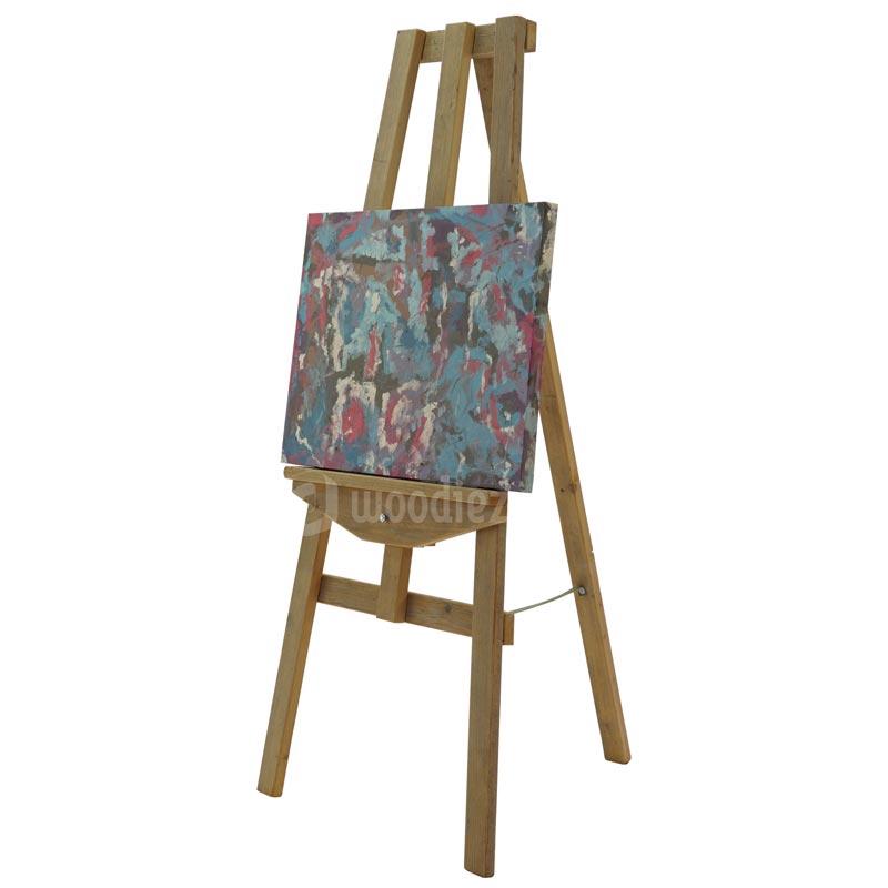 Decoratieve schildersezel huren om iets op te presenteren of als aankleding