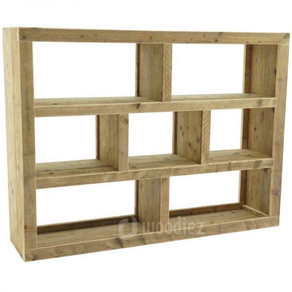 Steigerhouten vakkenkast of boekenkast op maat
