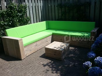 Steigerhout furniture exclusieve steigerhout loungebanken op