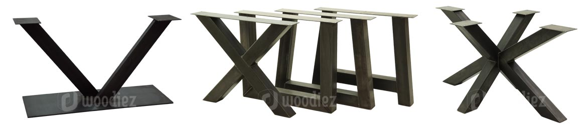 Stalen onderstel voor industriële tafels op maat