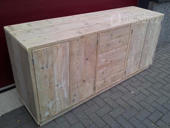 Steigerhouten Kast Voor Jou Op Maat Gemaakt Woodiez